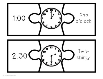 Time Unit: Telling Time to 5 Minutes Games and Activities