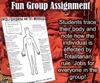 Fun Totalitarianism Group Activity