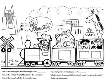 Fun Train Printable!