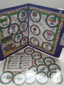 Giggly Games Fun & Treats Compound Words File Folder Game