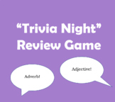"""Fun """"Trivia Night"""" Group Grammar Review Game - Adaptable to All Subjects!"""