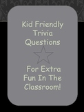 Fun Trivia Questions for Kids
