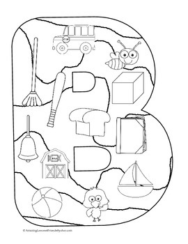 Fun Uppercase Letter Coloring Sheets