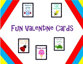 Fun Valentine Cards