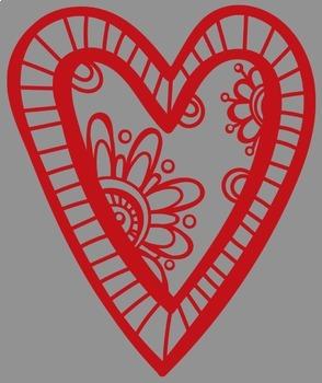 Fun Valentine Hearts Clip Art