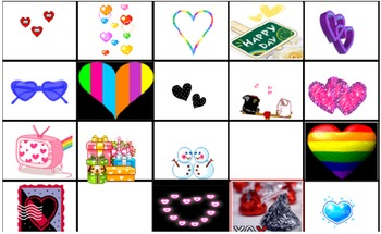 Fun Valentine Interactive Clip Art