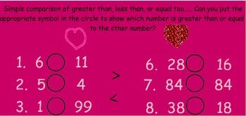 Fun Valentine Math Activities K-1