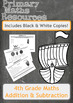 Fun Viking Themed Addition and Subtraction Worksheets for 4th Grade