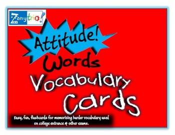 Fun Vocabulary Flash Cards