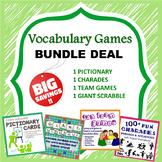 Vocabulary Games Bundle Perfect for ESL / EFL Class!