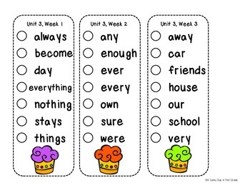 Fun Vocabulary Mini Books {Scott Foresman Reading Street ~ Grade 1, Unit 3}
