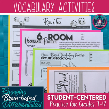 Fun Vocabulary Practice Activities for Any Word List