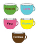 Fun Way of Grouping Kids (Colors - FACS Nutrition Words)