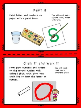 Letter Formation Handwriting Activities US