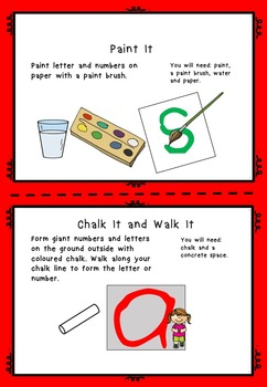 Letter Formation Handwriting Activities AUS UK