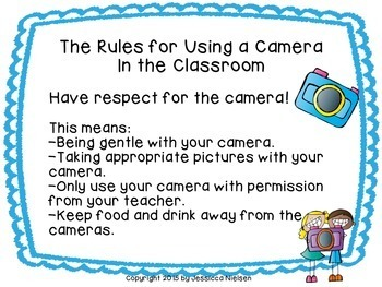 Fun Ways to Use a Camera in the Classroom