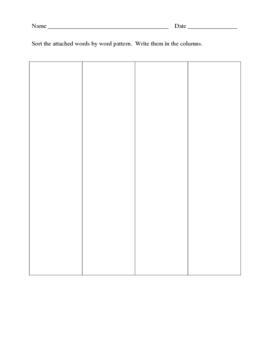 Fun Weekly Spelling Homework