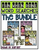Fun-When-Done Word Searches {THE BUNDLE}