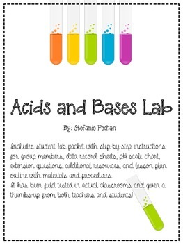 Fun With Acids and Bases Lab!