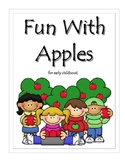 Fun With Apples Activities and Printables for Early Childhood