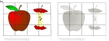 Apples Math Literacy Bundle Centers Special Education Kindergarten Fine Motor