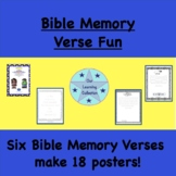 Fun With Bible Memory Verses