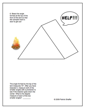 Fun With Bisectors - Perpendicular & Angle Bisectors Practice