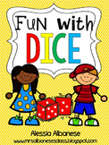 Fun With Dice! {Math Games}