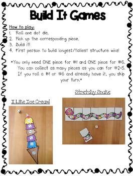 Fun With Dice! {Math Games}