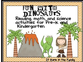 Fun With Dinosaurs: Activities for Pre-k and Kindergarten