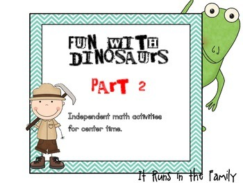 Fun With Dinosaurs:  Part 2