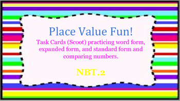 Fun With Expanded, Word, and Standard Forms