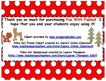 Fun With Fables (Using QR Codes)