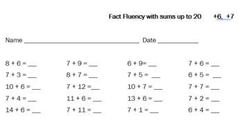 Fun With Fact Fluency