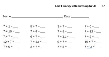 Fun With Fact Fluency