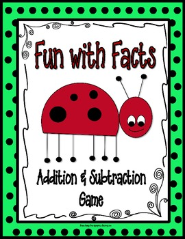 Addition and Subtraction Game {Fun with Facts}