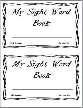 Fun With Fish:  First Grade Spelling and Sight Word Packet