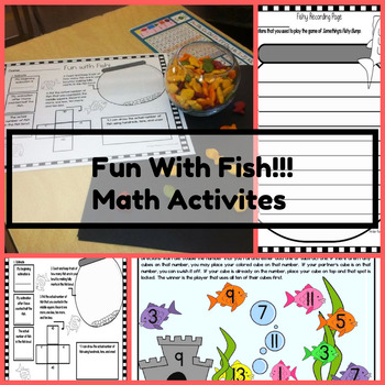 Fun With Fish {Three Printable Math Activities for Spring