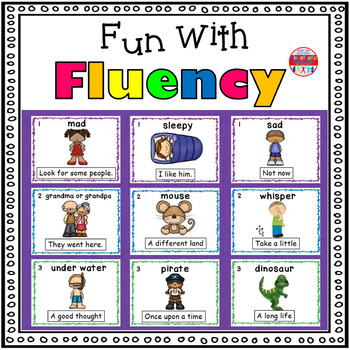 Reading Fluency Activity - Fun With Fluency Silly Reading Workshop