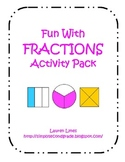 Fun With Fractions Pack!