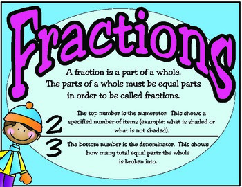Winter Fun With Fractions and Decimals (TEKS 4.2G)