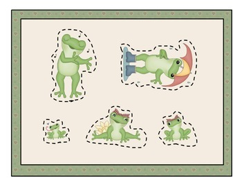 Fun With Frogs: Thematic Measurement Activity