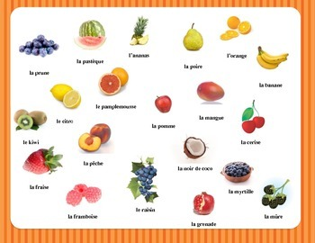 Fun With Fruit Part 1 - French