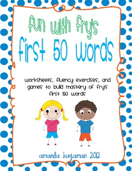Fun With Fry's First 50 Sight Words