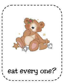 Fun With Ginger Bears Christmas MP3 for performing
