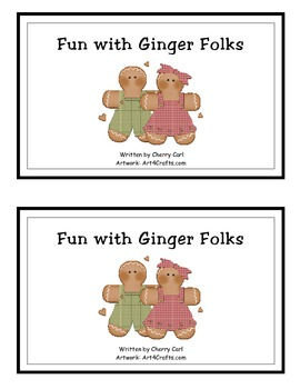 Fun With Ginger Folks Guided Reader for Christmas