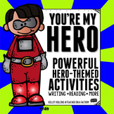 Superheroes - Reading and Writing Activities