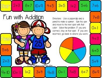 Fun With Math - 14 NO PREP Math Games