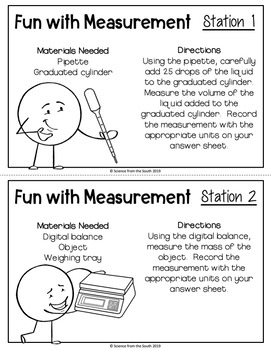 Fun With Measurement Lab for Middle and High School Students
