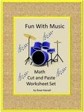 Music Fine Motor Skills Counting Kindergarten Math Skills Special Education Math